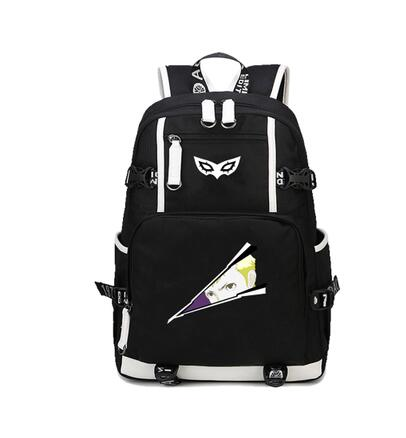 Anime <font><b>Persona</b></font> <font><b>5</b></font> <font><b>Backpack</b></font> P5 student Book bag Capacity Unisex Travel Shoulder bag packsack image