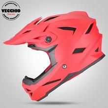 Off Road Мотоциклетный шлем грязный велосипед шлем мотоцикл мотокроссу спуске шлем велосипеда рок-звезда Креста ATV Велосипедный Спорт Шлем