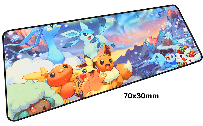 Pokemons mousepad gamer 700x300X3MM gaming mouse pad large High quality notebook pc accessories laptop padmouse ergonomic mat