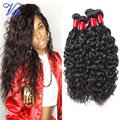 7A Unprocessed Wet And Wavy Brazilian Water Wave Virgin Hair Queen Hair Products Brazilian Virgin Hair Natural Weave Water Wave