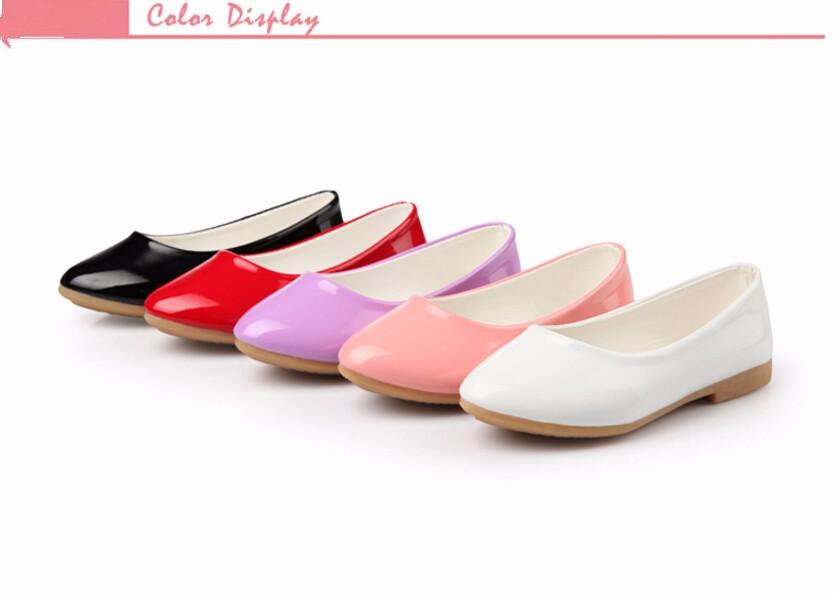 girl leather shoe-33