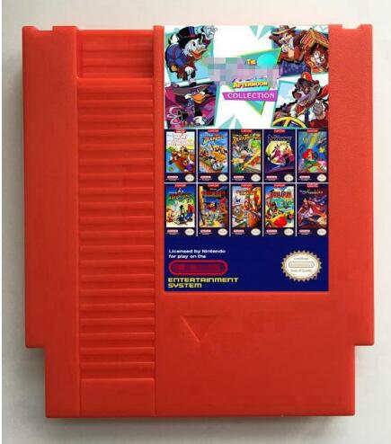 The Afternoon Cartoons Collection 117 in 1 Game Cartridge for NES, All the Cartoons games for NES