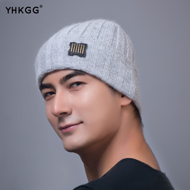 2016 YHKGG Unisex Acrylic Knit Hat Winter Hats  Style Skullies  Beanies For Woman And Man  Hip-hop fashion brand hat