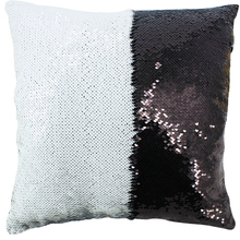 AOVOLL Cushion Covers 40X40cm Mermaid Glitter Pillow with Sequin Pillowcase Decorative Pillows cover Cushions Home Decoration