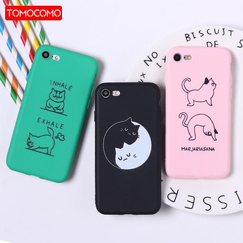 font b Cute b font Funny Cartoon Grumpy Cat Soft Matte Phone font b Case