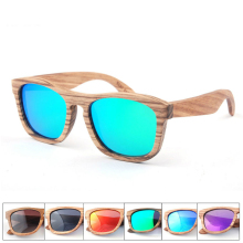 High Quality Fashion Design 100% Whole Handmade Wood Sunglasses Men Polarized Fishing Sun Glasses For Mens Square Wooden Frame
