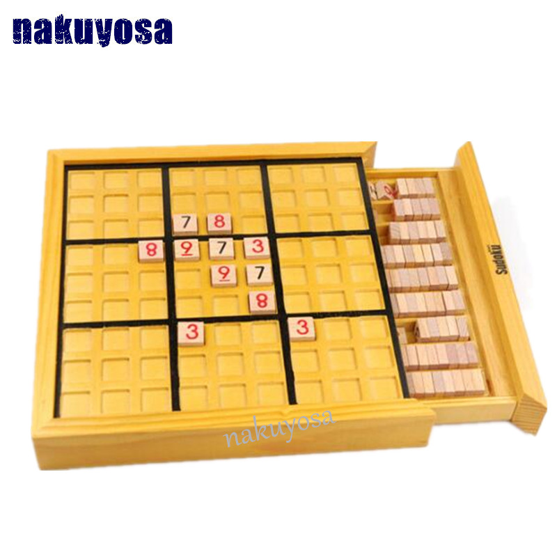 Kids Toys also for Adult Logical Thinking Sudoku Puzzle Wooden toys Puzzle Model Kit Toy