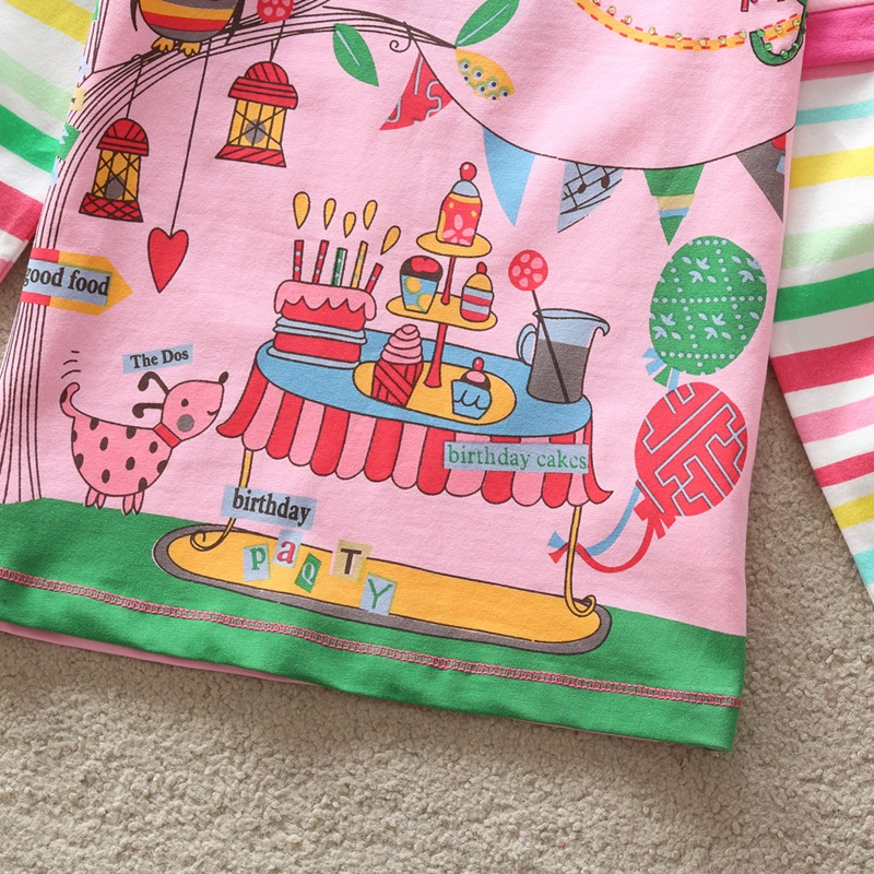 HTB19mFQgzoIL1JjSZFyq6zFBpXa9 - Girls Long Sleeve All Year T-Shirt, Long Sleeve, Cotton, Various Designs and Prints