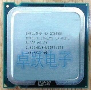 Inteligencia QX6800 qx6800 procesador de CPU Quad-Core (2,93 Ghz/L2 = 8 M/130 W) Socket LGA 775 CPU envío gratis