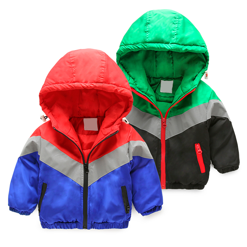 winter boys jacket baby coat long sleeve quilted children clothing wholesale