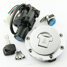 цена на Fuel Tank Cover Cap Lock With Ignition Switch Lock FOR Honda CBF500 2004 2005 CBF600 2004-2009