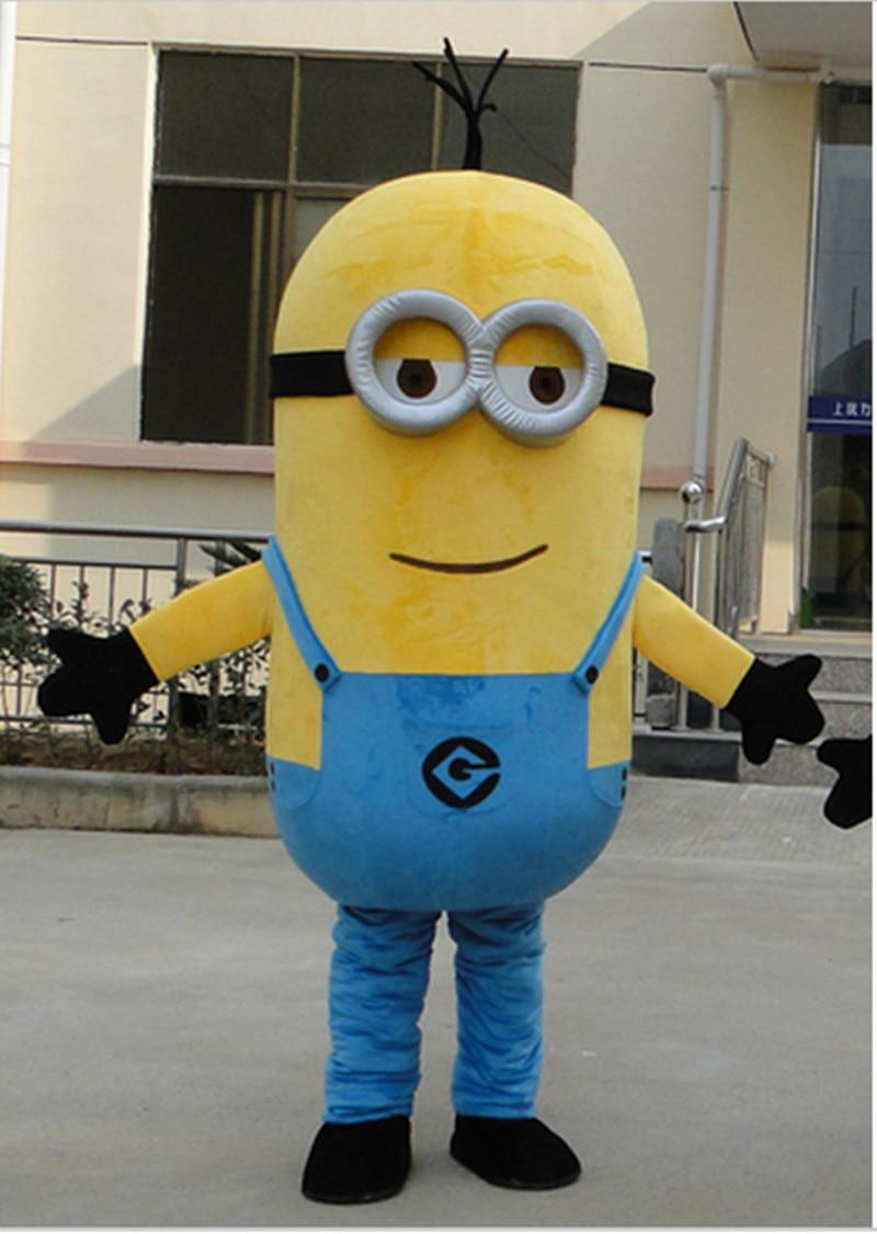 НЕВ АРРИВЕ минион костим за маскоту за одрасле костим за одрасле Цосплаи минионс костим маскоте фрее схиппинг