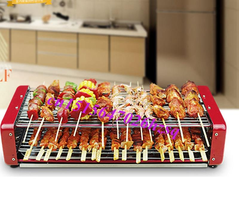 Automatic rotary household electric grill BBQ electric oven bbq grill roast
