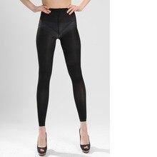Dream Slim (Black/Nylon) Ladies Compression Skinny Leggings For Varicose Veins K02