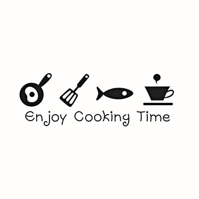 Kitchen Enjoy Cooking Time Wall Sticker