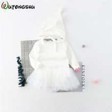 FREE SHIPPING !! Baby Rompers With Hat Long Sleeve Newborn Baby Clothes JKP857