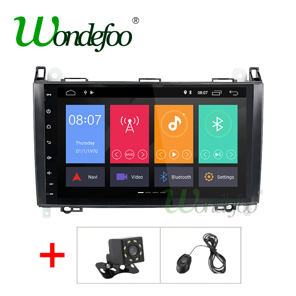 IPS Android 8 1 2G 4 Core 2 Din auto dvd player for Benz Sprinter B200