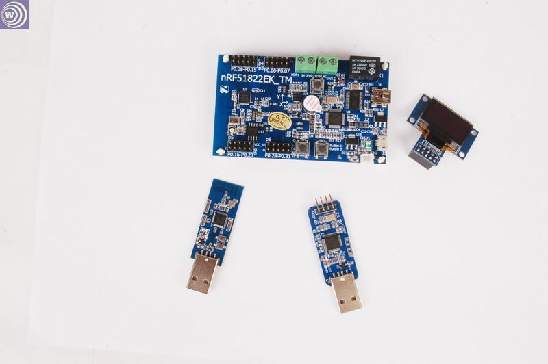 NRF51822EK_TM Bluetooth 4 4.1 carte de développement de faible puissance paquet A