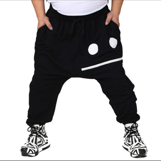 2016 otoño invierno hombres harem pantalones de moda casual pantalones de algodón masculina pantalones de los hombres más el tamaño grande 5xl 6xl 7xl 8xl grasa sobrepeso