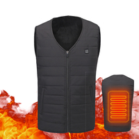 Motorcycle Jacket Men USB Infrared Heating Vest Riding Jacket Moto Autumn Winter Electric Thermal Motorcycle Clothing