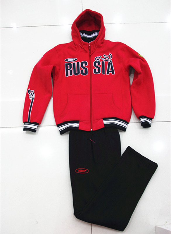 ФОТО brand Russia BOSCO Sochi sports teams Russian national team clothing for men men's male cucling sports suit  thickening clothing