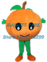mascot Big Orange Baby Mascot Costume with Leaves healthy fruit theme anime cosplay costumes carnival fancy dress kits suit