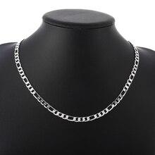 Men Simple Necklace Chain DIY Bracelet Jewelry Link Chain Necklace Sweater T-shirt accessory Boyfriend Gift charm jewelry