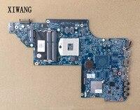 641485 001 Free Shipping for HP Pavilion DV6 motherboard DV6 6000 HM65 DDR3 Socket PGA989 Laptop Mother Board