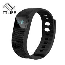 TTLIFE Smart Браслет фитнес деятельность Bluetooth 4.0 SmartBand Спорт браслет шагомер для IOS Samsung Android
