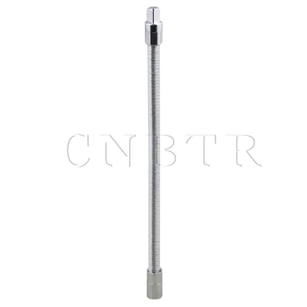 CNBTR 3/8 Inch Length 30cm Ratchet Flexible Extension Bar Bit Drive Socket Shaft Tool for Screwdriver Screw Cordless Drill Sh 3 8 10mm chrome vanadium ratchet wrench 3 8 spanner socket set crv extend handle