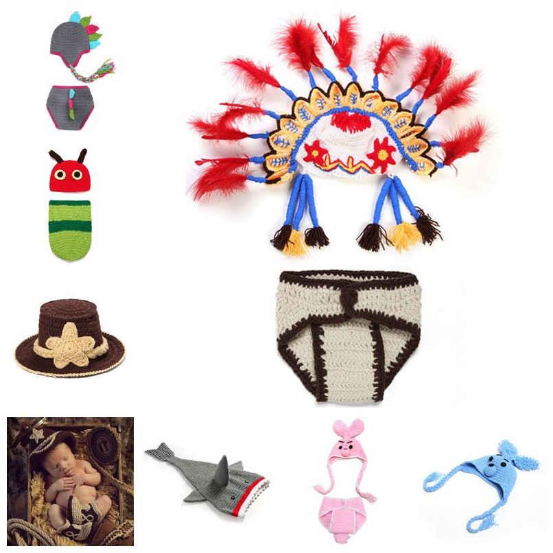 El yapımı Tığ Bebek Şapka ve Botları Sarı Yenidoğan Mermaid Fotoğraf Prop Bebek Kostüm 0-3 M Cadılar Bayramı Kostüm Duş hediye H902S
