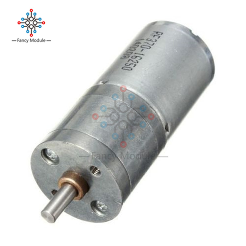 Gear 12V DC 60RPM Motor High Torque Electric Reduction Gearbox Centric Output Shaft Low NoiseGear 12V DC 60RPM Motor High Torque Electric Reduction Gearbox Centric Output Shaft Low Noise