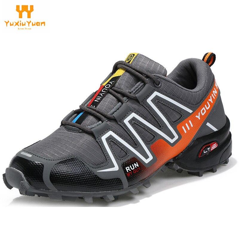 Hommes de Sport Chaussures de Course Espadrilles de Rhythm Hommes Respirant Maille Chaussures de Sport En Plein Air Lumière Mâle Chaussures Taille de L'ue 39-48