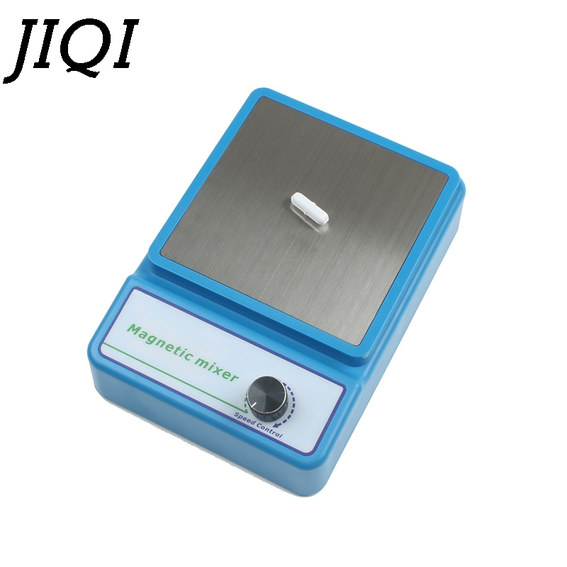 JIQI Laboratory Magnetic Stirrer Lab Chemistry Liquid Mixer with Stir Bar Without heating plate hotplate 2400rpm 3000ml 100-240V все цены