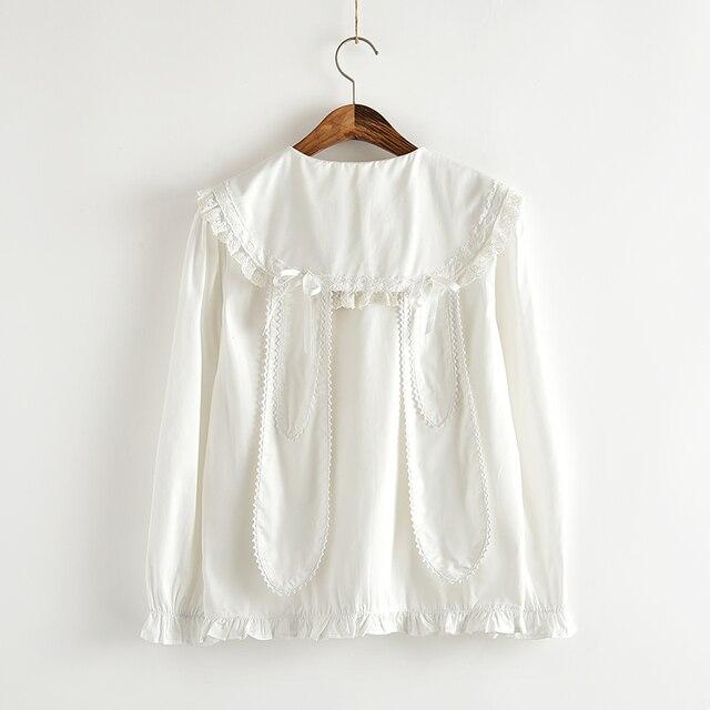 fb9d8361d2b3 Kobiety Moda Biały Ruffles Bluzki Damskie Eleganckie Bluzki Ubrania Kobiece  Ubrania Bluzki Koszula z krótkim rękawem