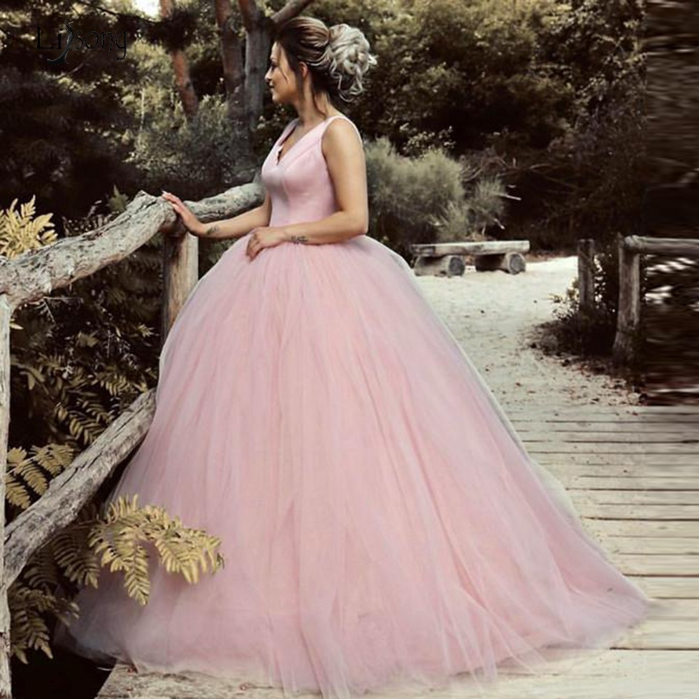 Sweet Candy Pink Color Tutu   Prom     Dresses   Bows Fashion Lush Ball Gowns For Princess Open Back Long   Prom   Gowns Robe De Soiree