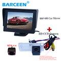 """Carro invertendo câmera + monitor do carro da tela de 4.3 """"4 ir adaptar para Renault Fluence/Dacia Duster/Megane 3/para Nissan Terrano"""
