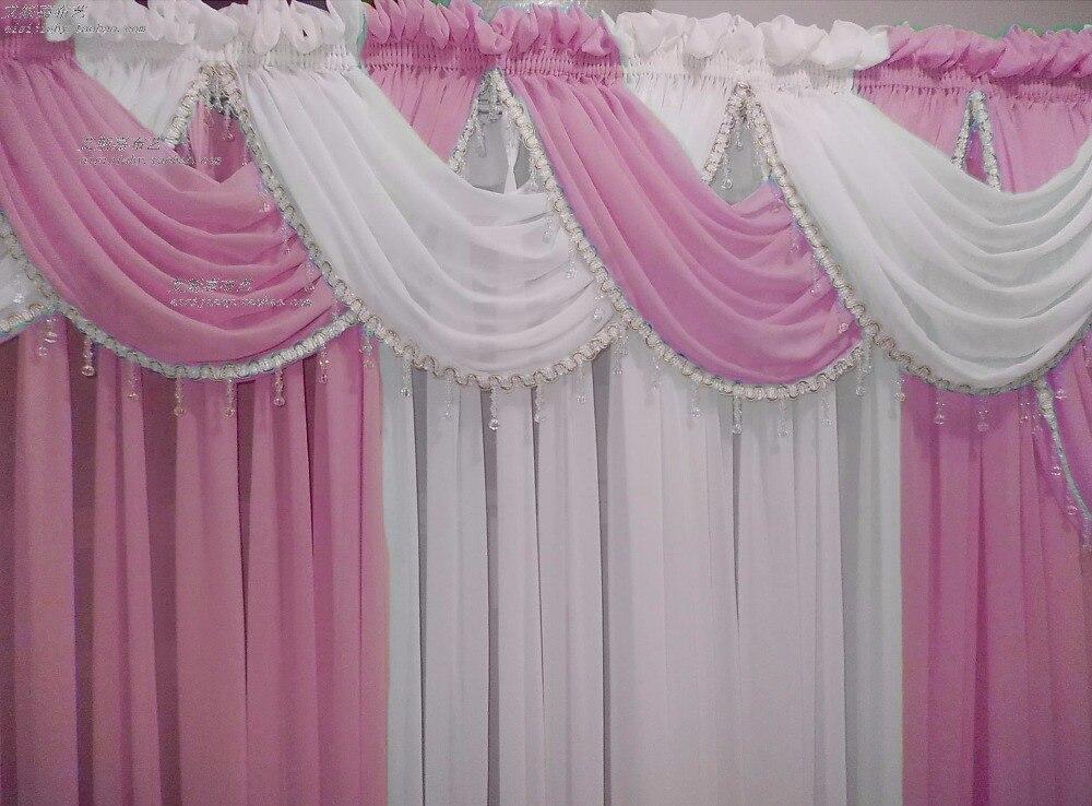 Volant gordijnen keuken merk moderne sheer tule cortinas voor