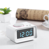 FM Radio Loud Alarm Clock Digital Alarm Clock for Heavy Sleepers With Backlight for Office Bedroom Dual USB Charging Ports 1set
