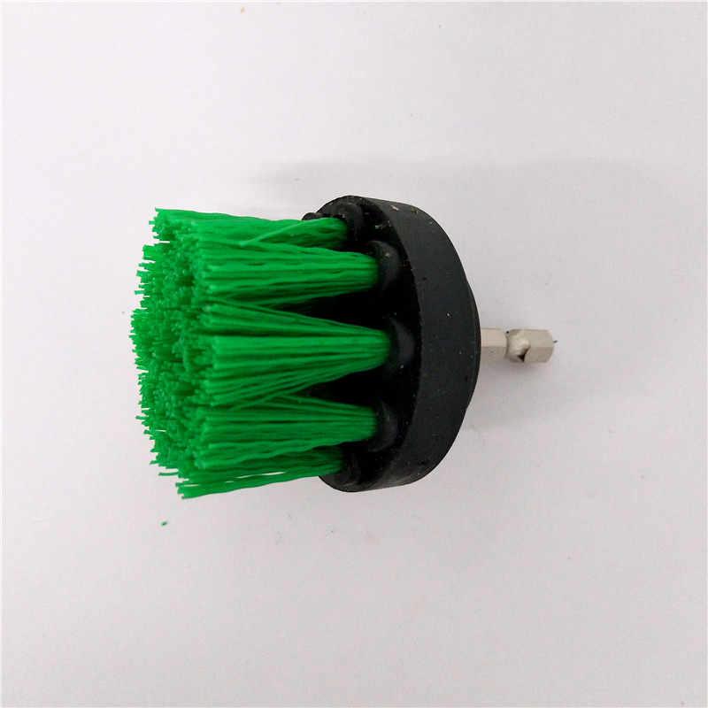2 قطعة الحفر فرشاة الطاقة فرشاة تنظيف نظيفة فرشاة تستخدم على الحفر الكهربائية للسجاد أريكة جلدية البلاستيك خشبية شحن مجاني