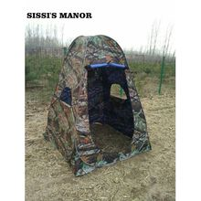 SISSI'S MANOR camouflage 150*150*185cm Portable outdoor Shower tent/dreesing tent/toilet tent /photography pop up tent with UV