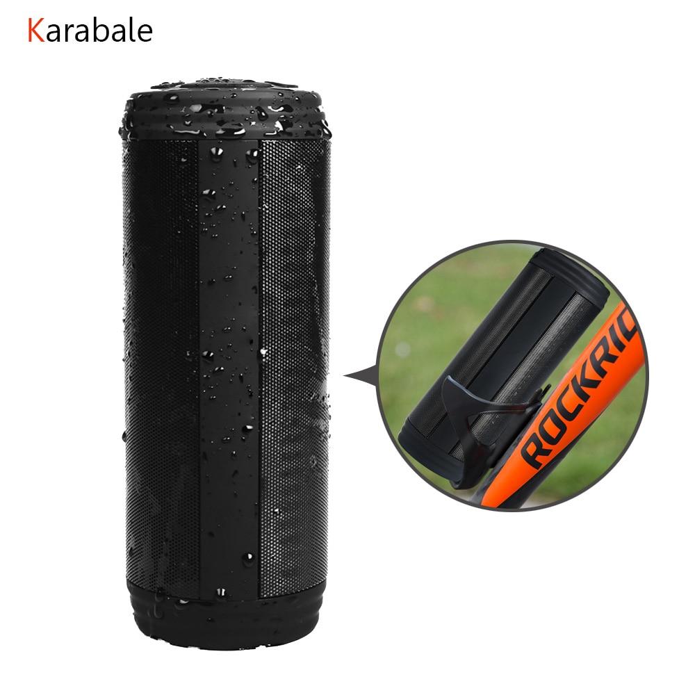 Speaker Outdoor Deep-Bass Portable Bluetooth Mp3-Player Subwoofer Waterproof Wireless