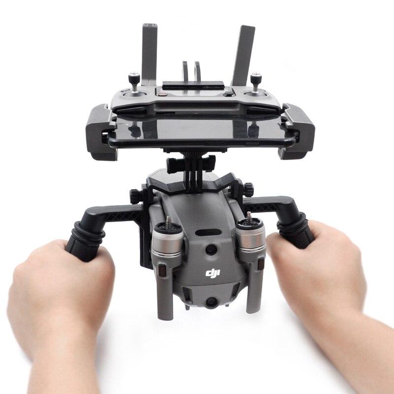 1 Set Handheld Gimbal Tray Stabilizer Holder Mount Bracket For DJI Mavic 2 Pro/Zoom Drone