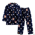 pijama kids For Girls Boys Children pyjamas Set Kids Long Sleeve Cartoon Soft Winter Warm Girls sleepwear kids pajamas 1-13 y