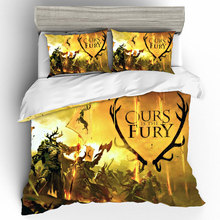 Customize Game Of Thrones King Size Bedding Sets Duvet Cover Bed Sheets And Pillowcases Linen Set Home Textile