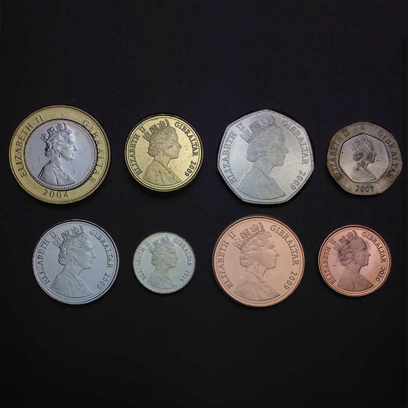 GREENLAND Coins Set of 8 Pieces 2010 UNC