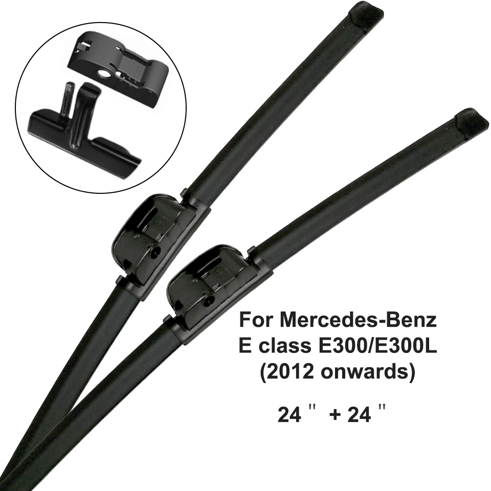 Mercedes-Benz E-Class: Cleaning the wiper blades