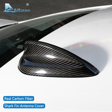 Velocidad del aire para BMW E90 E92 F20 F30 F10 F34 G30 G20 F15 F16 F21 F45 F56 F01 accesorios de fibra de carbono alerón con forma de aleta de tiburón recorte cubierta