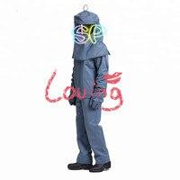 Оптовая цена 40cal вспышки дуги защитный fire resistant bib куртка Штаны капюшон