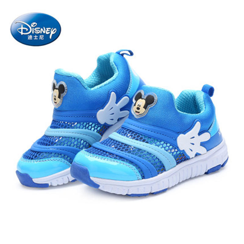 Disney Caterpillar shoes 2019 New Spring  Mesh Sports shoes Child Girl Princess shoes 26 35-in Sneakers from Mother & Kids    3